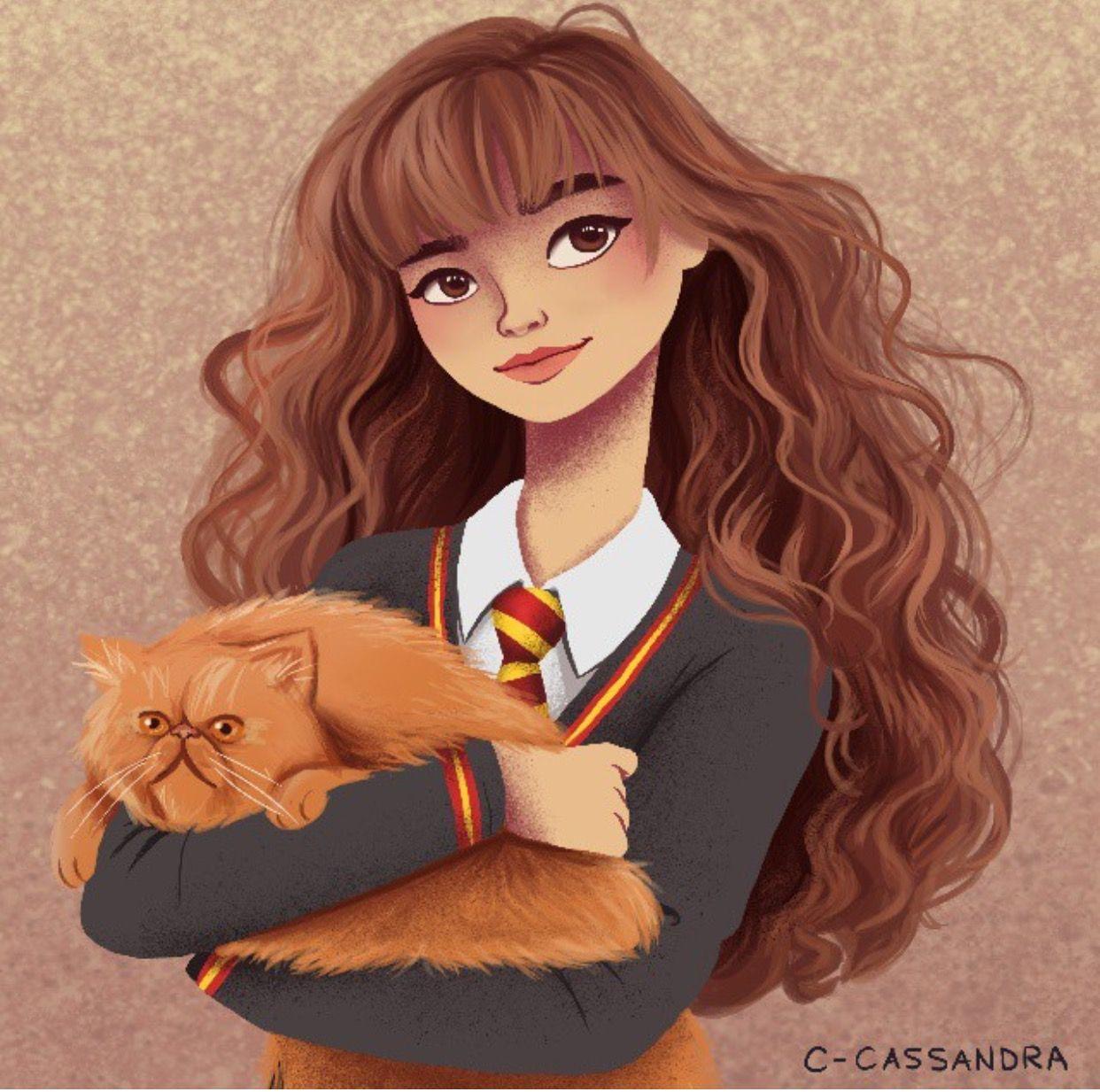 Cassandra Hermione Hermione granger fan art, Harry