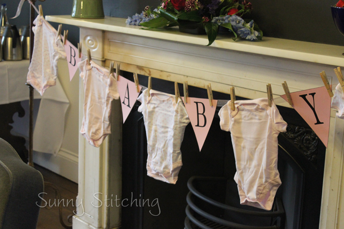 Clothesline Baby Shower Decorations AND raffle game Boy/Girl raffle