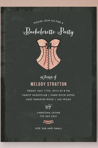 Bachelorette Invite Ideas Trendy Tuesday  Bachelorette Party