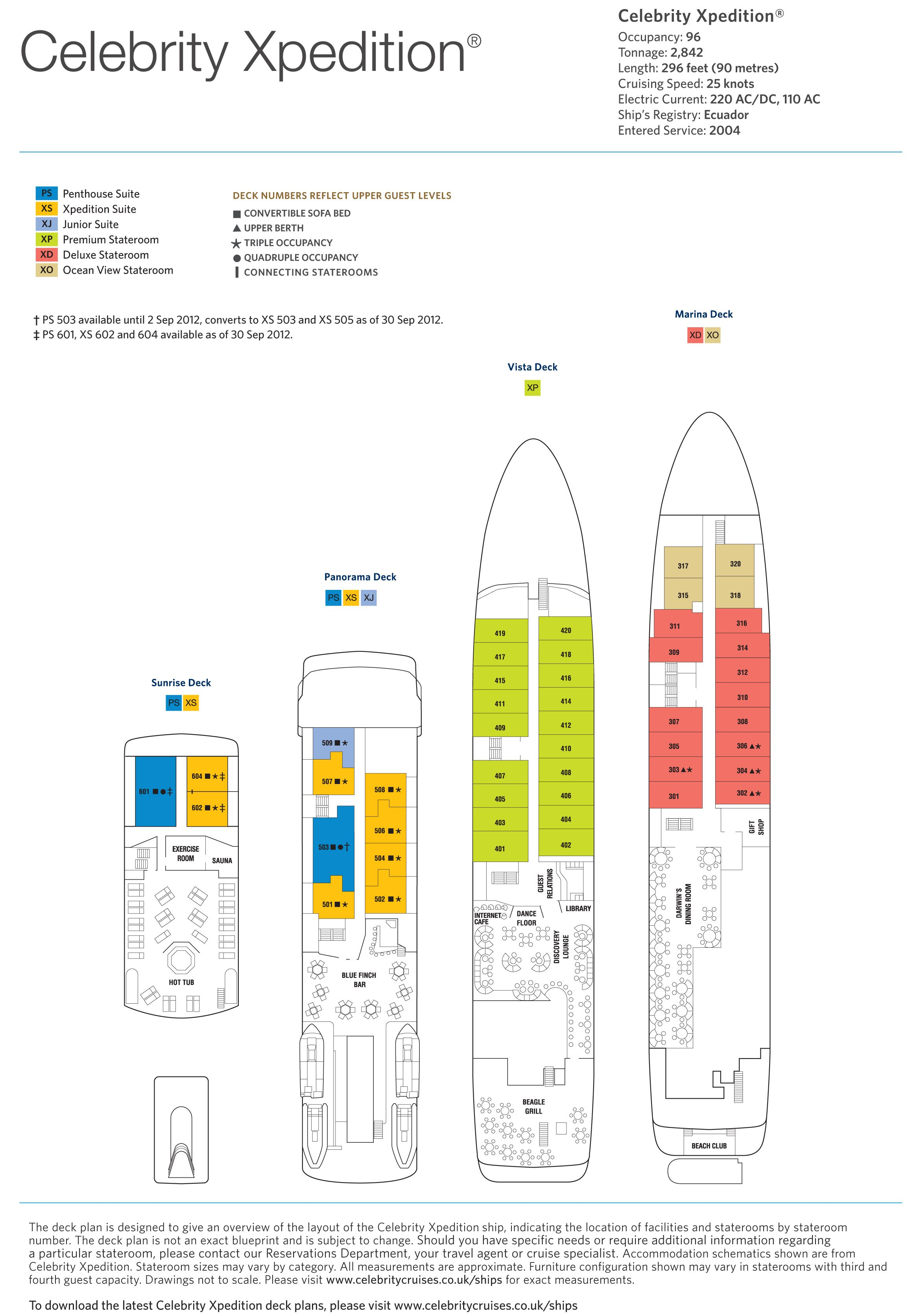 Celebrity xpedition deck plans cruise companies pinterest celebrity xpedition deck plans baanklon Choice Image