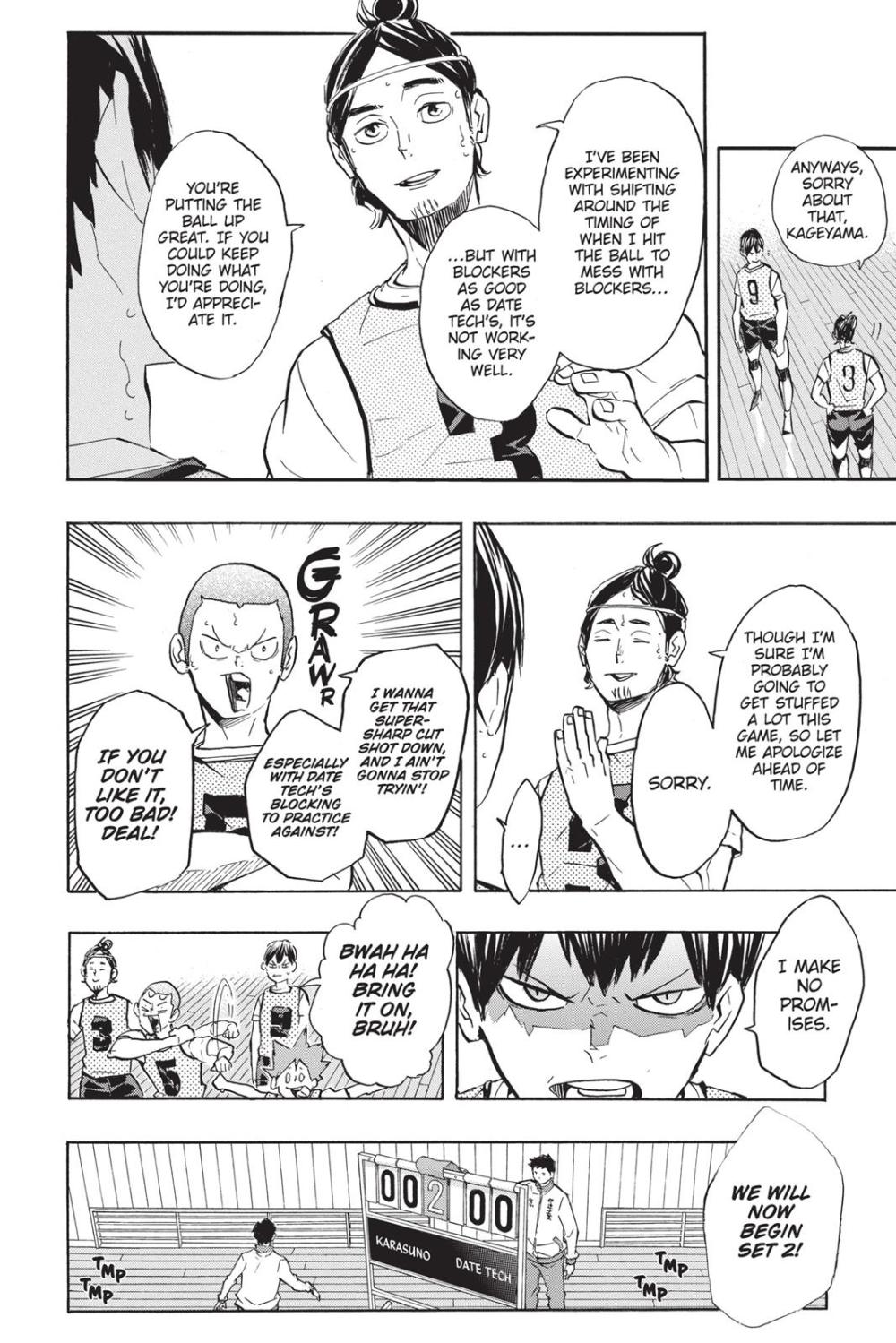 Haikyuu Chapter 224 Read Haikyuu!! Manga Online Manga