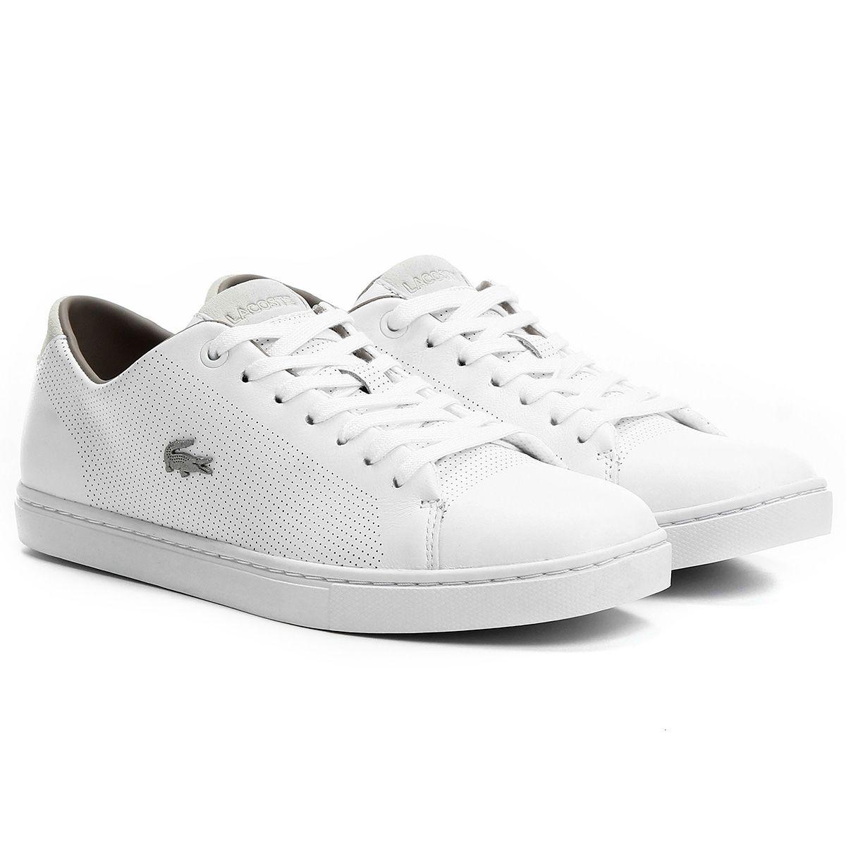 b447fd8deab35 Compre Tênis Lacoste Q3 Showcourt S Branco na Zattini a nova loja de moda…