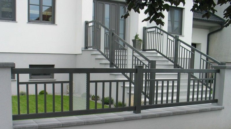 Aluminium Korlat 12 House Gate Design House Fence Design