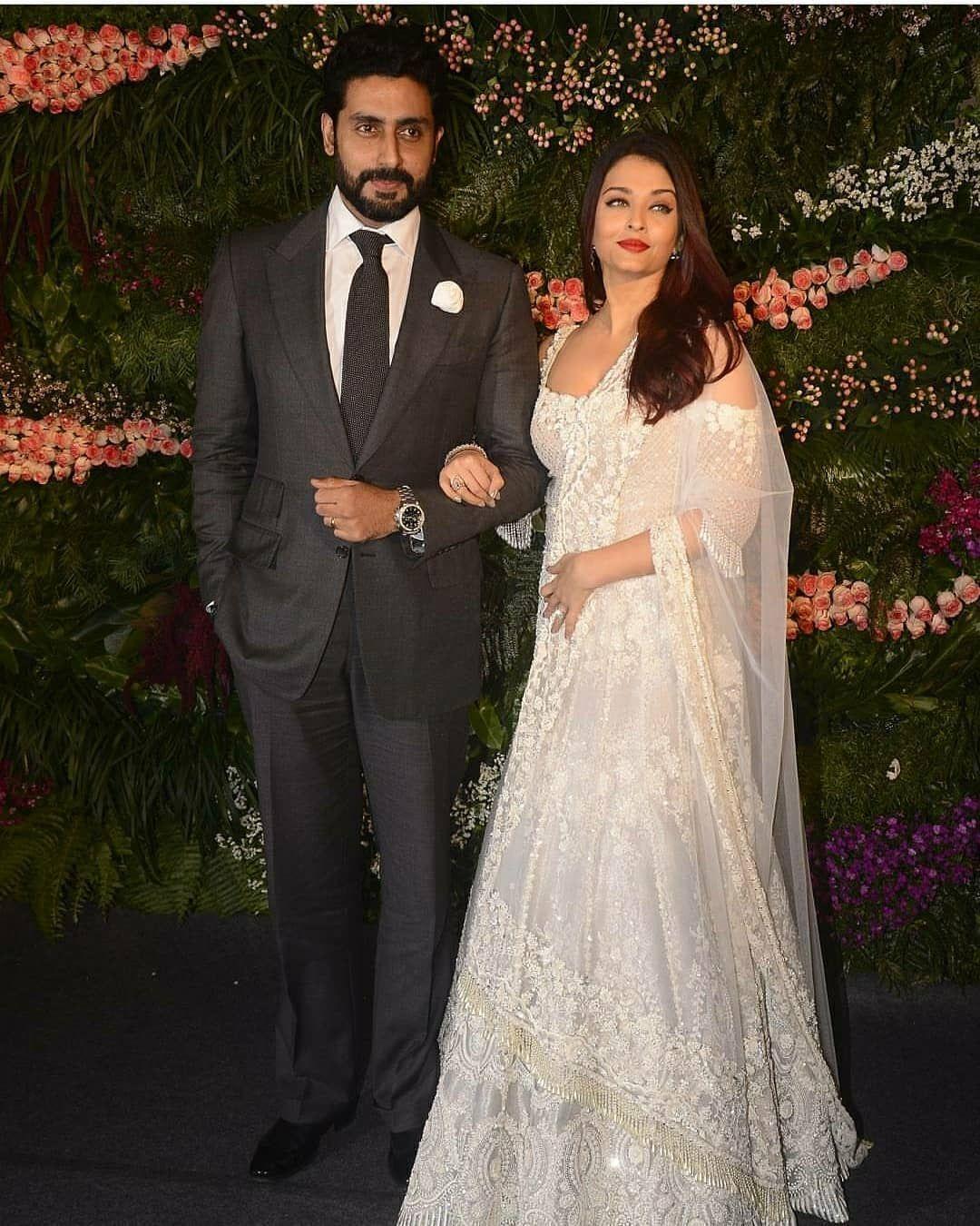 White Wedding Dress Mumbai: Spotted: Aishwarya Rai Bachchan Looks Serene In This