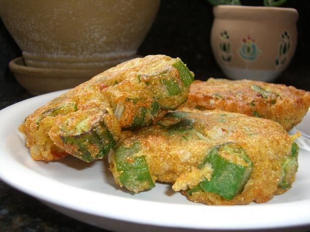 recipe: frozen okra patties [6]