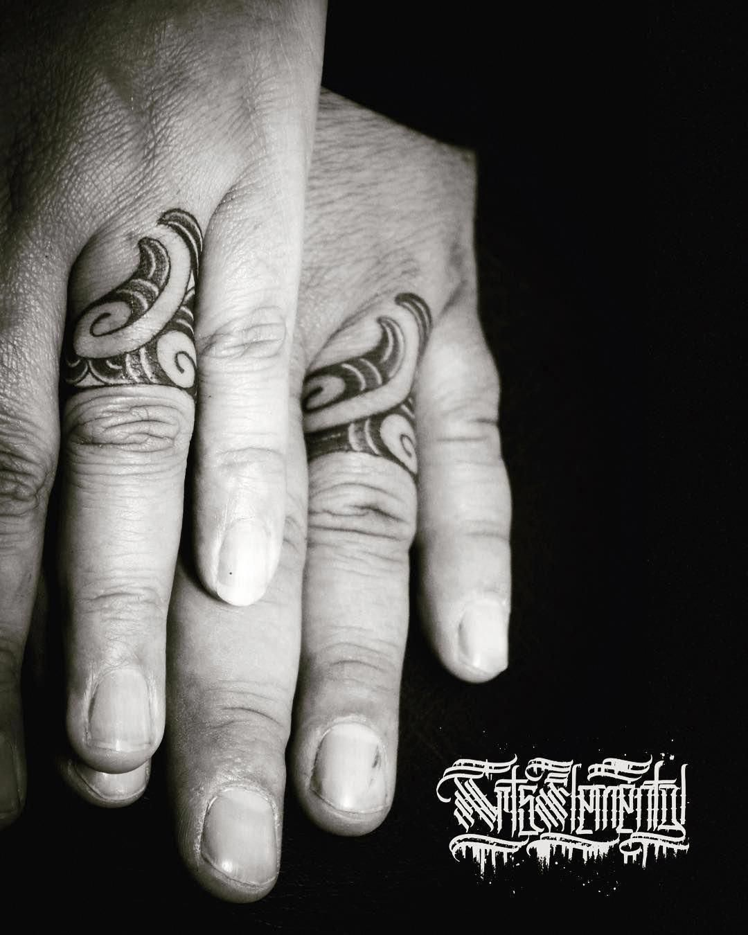 Check Out Our Page For A Little More With Regard To This Exceptional Photo Weddingringpair Tatuagem Maori Fingers Tattoo Tatuagem