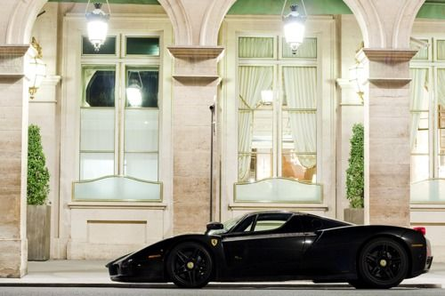 black enzo. hot.