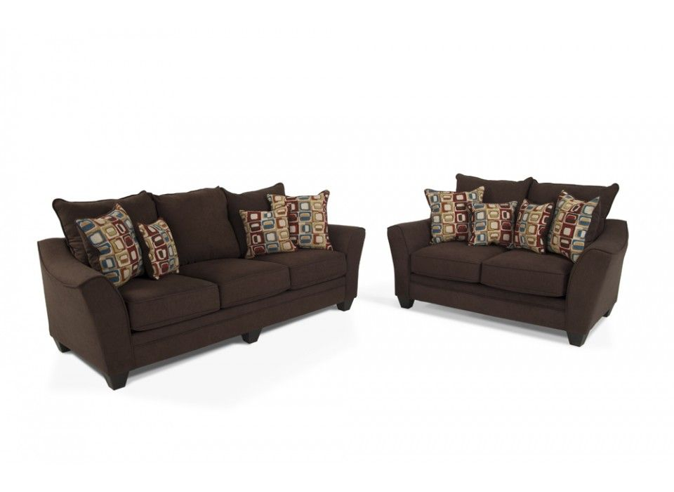 Delish Sofa  Loveseat Bobs Discount Furniture Future House - Bobs furniture living room sets