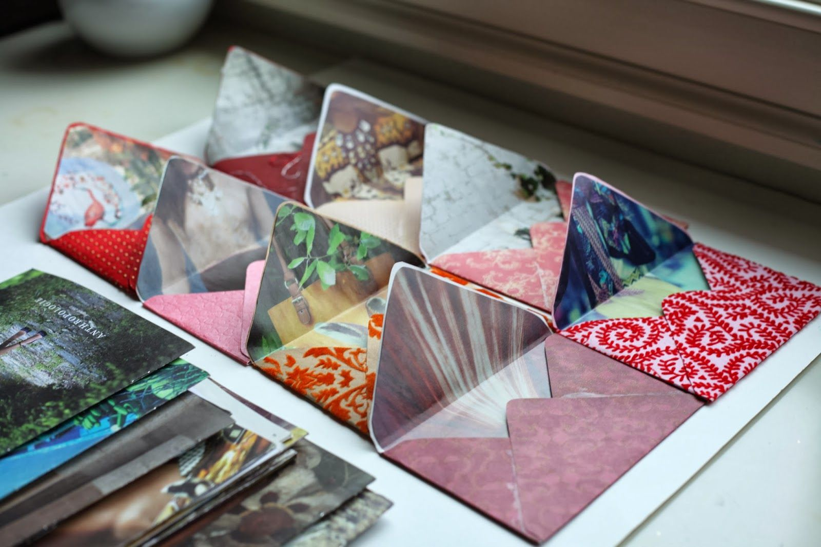 vintage pretty: DIY // Anthro Inspired Envelopes