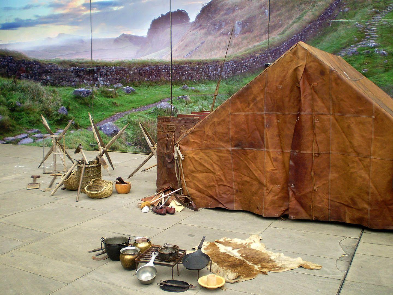 Legionaries' camp, British Museum, 2008