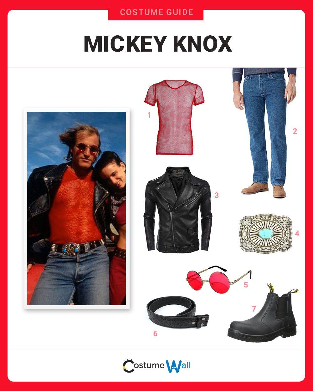 Dress Like Mickey Knox Natural born killers, Costumes