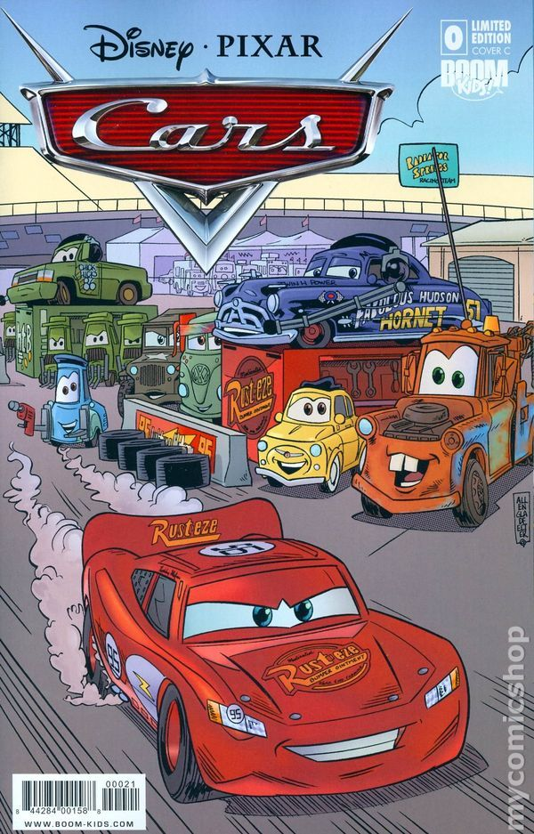 Cars (2009 2nd Series Boom Studios) comic books