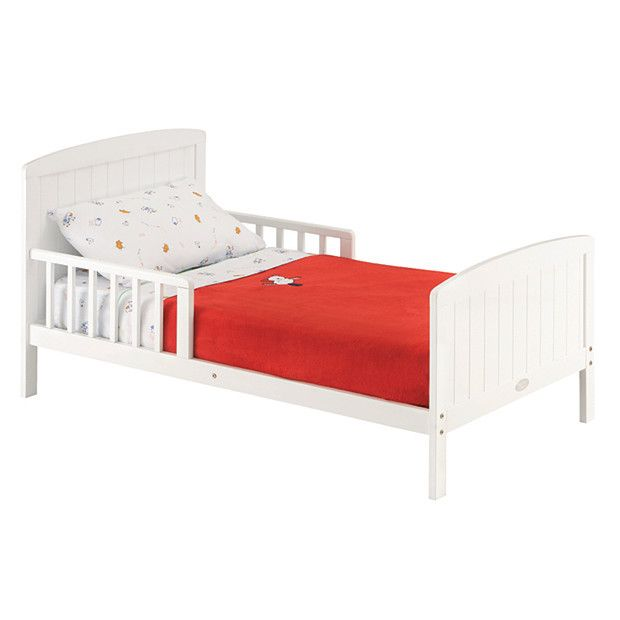 Mothers Choice Toddler Bed White Toddler bed Cot mattress and Cots