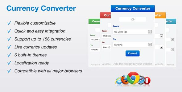 Currency Converter This Is Jquery Plugin That Creates Conversion Widget