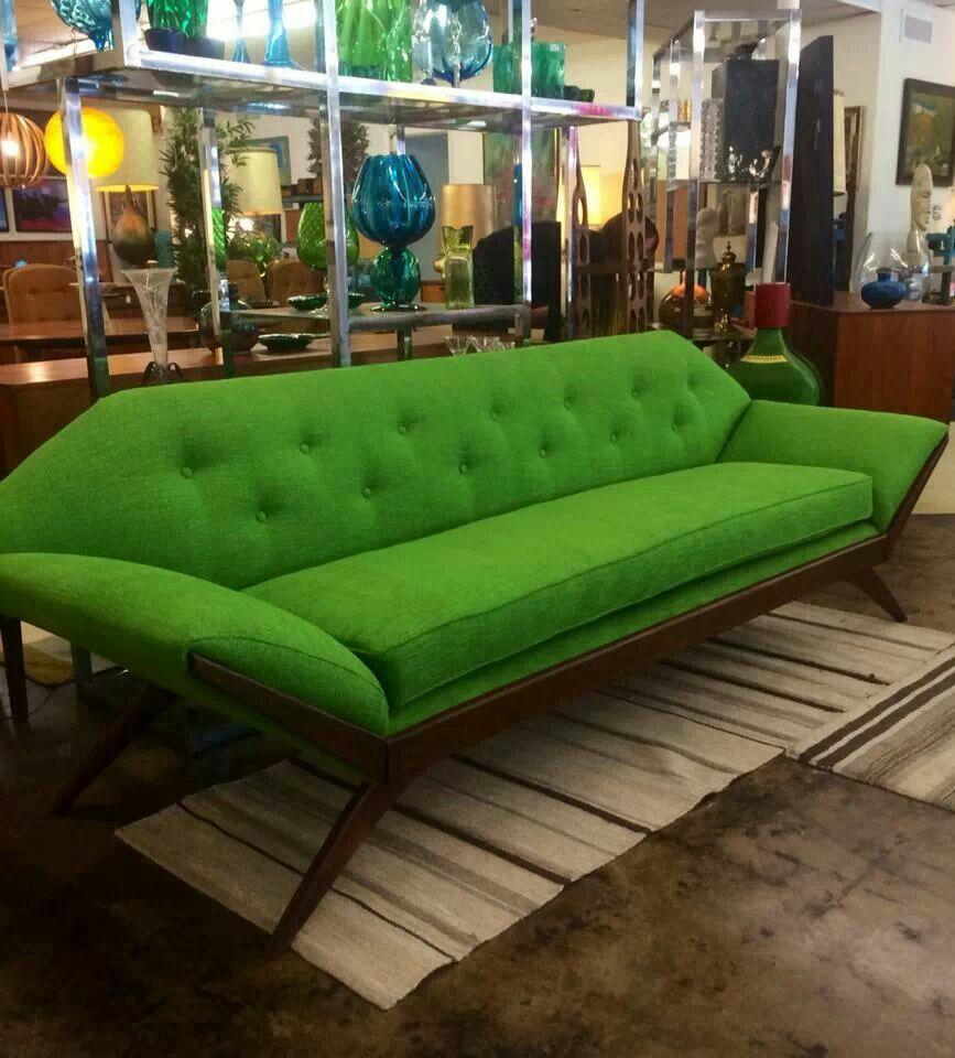 Adrian Pearsall Gondola Sofa @ Uptown Modern ~ Austin, Tx.