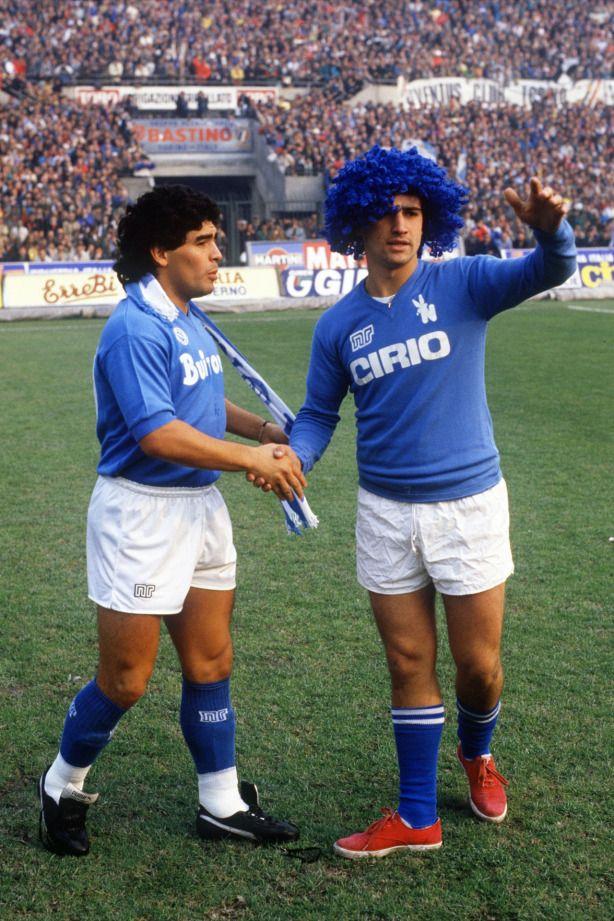 Diego en el Napoli