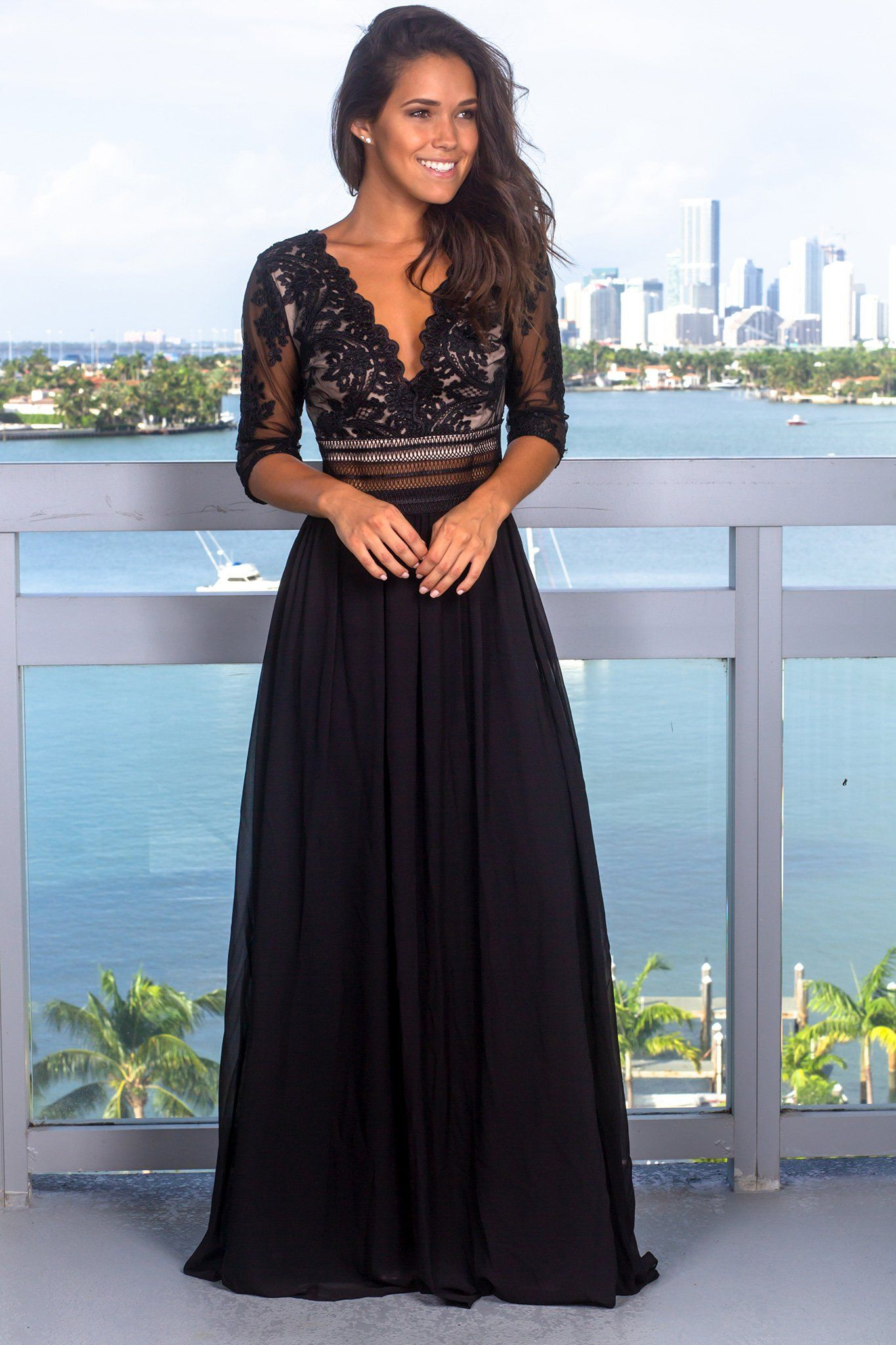 Wishlist Saved By The Dress Black Tie Event Dresses Maxi Dress Black Tie Wedding Guest Dress