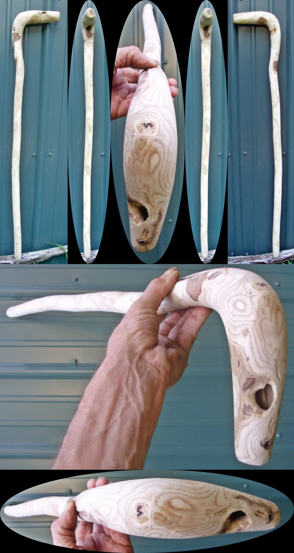 Unfinished Wood Walking Stick Blanks