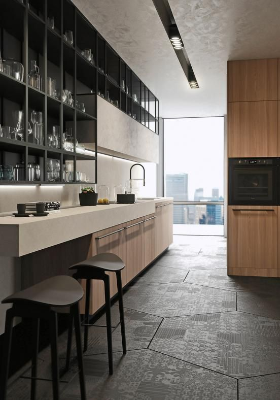 Living space or hi-tech laboratory, mini-blocks or super-equipped ...