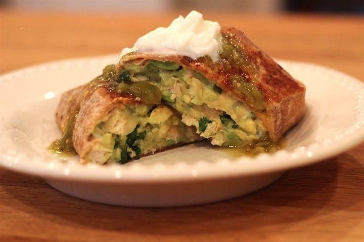 Avocado Burrito | A Lovely Living - -Chicken Avocado Burrito | A Lovely Living - -  Swedish Meatbal
