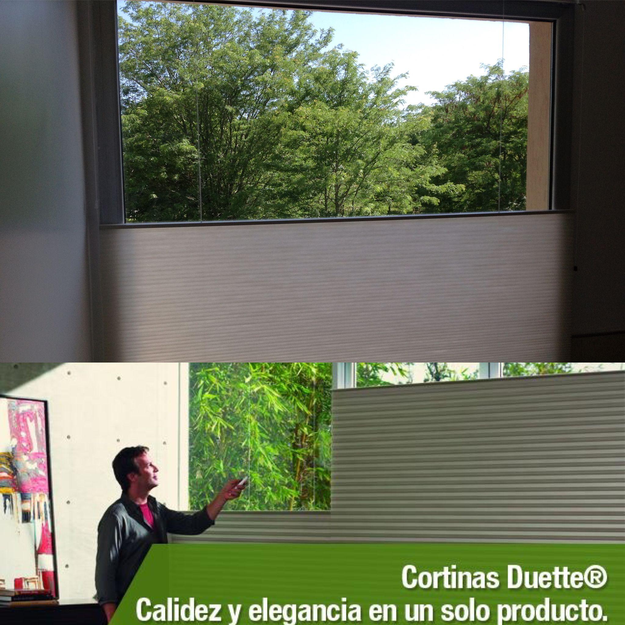 Cortinas Duette HunterDouglas por Snob.Un nuevo concepto en ahorro de energia te esperamos en nuestro Showroom con todo el asesoramiento profesional. Contacto snobcortinas.com