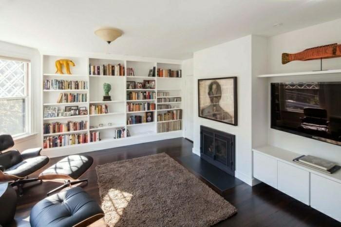 Moderne Kamine für exquisite Wohnzimmer