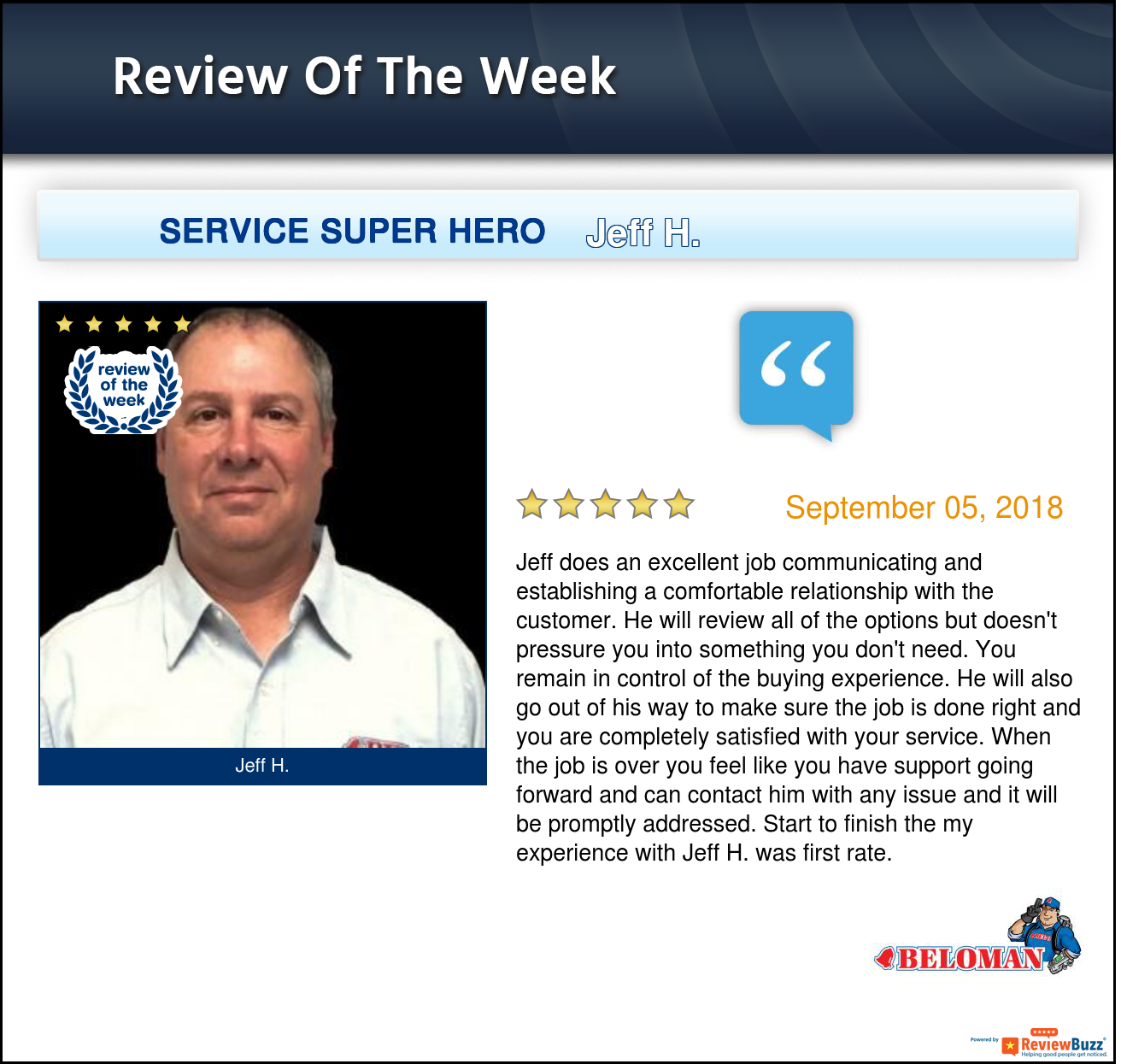Review of the Week! Heating, cooling, Plumbing, Pest control