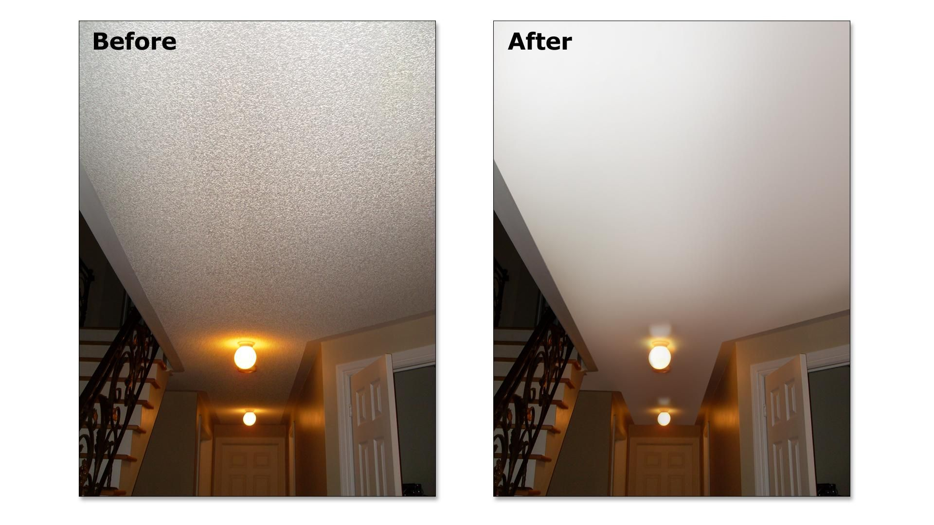 How To Finish A Ceiling After Removing Popcorn Mycoffeepot Org