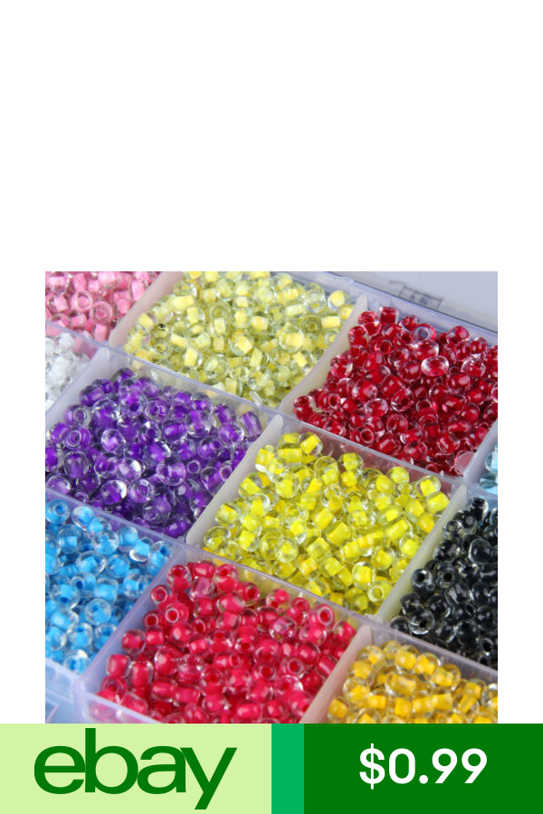1000pcs Czech Glass DIY Seed Loose Spacer Beads Jewelry Making Finding 41-Color