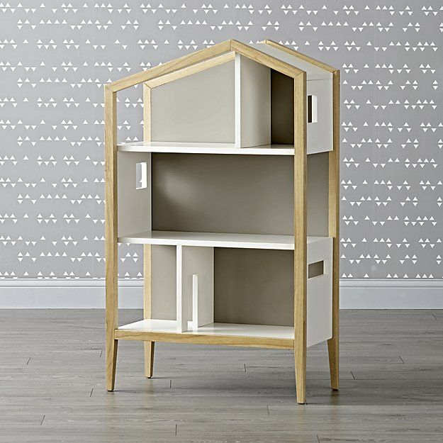 Modern House Bookcase + Reviews | Crate and Barrel ...