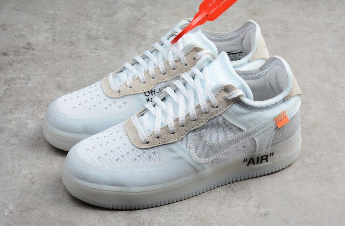 Nike Off White X Air Force 1 Low The 10 Og Ao4606 100 In 2020 Nike Air Force White Air Force 1 White Air Force Ones