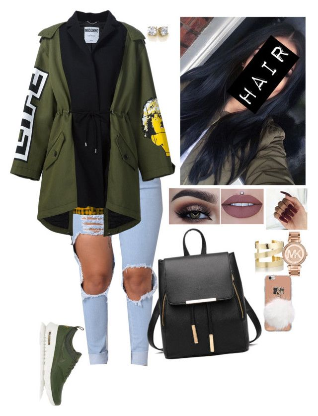 """""""It's Not My Dream..It's My Plan!   #642"""" by medinea ❤ liked on Polyvore featuring Moschino, NIKE, Michael Kors and Étoile Isabel Marant"""