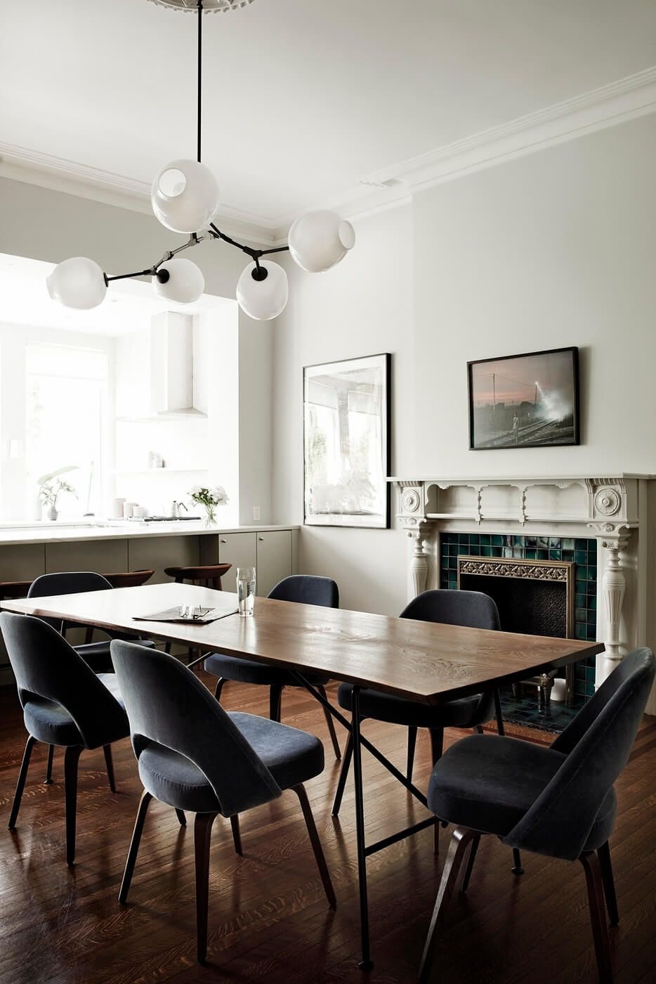 High End Renovation Of A Classic Brownstone Gently Modernized By Bangia Agostinho Architecture With Luxurious Furnishings And Finishes Shaker Studio