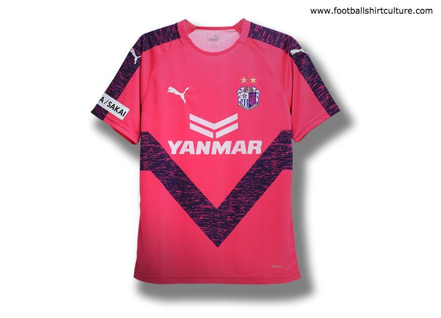 97ab686b0 CerezoOsaka  cerezo  jleague Cerezo Osaka 2019 Puma Home Kit ...