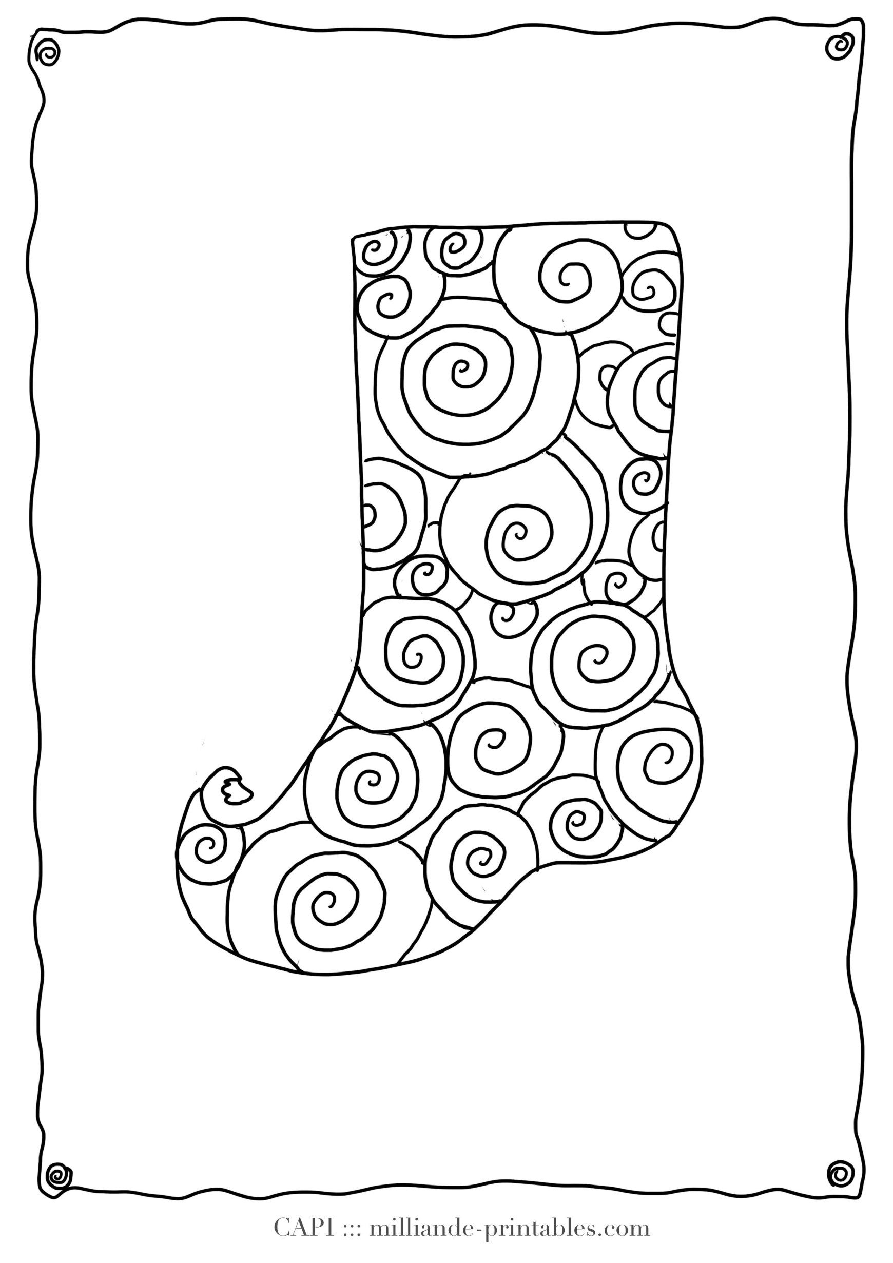 24 Marvelous Image Of Stocking Coloring Page Davemelillo Com Christmas Coloring Pages Free Christmas Coloring Pages Printable Christmas Stocking