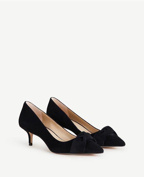 ed7bc65cfa4 Ashlyn Suede Bow Pumps | Fashion | Pumps, Shoes, Bows