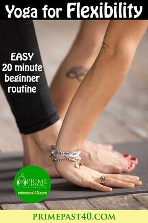 this simple to perform 20 minute beginner yoga routine for
