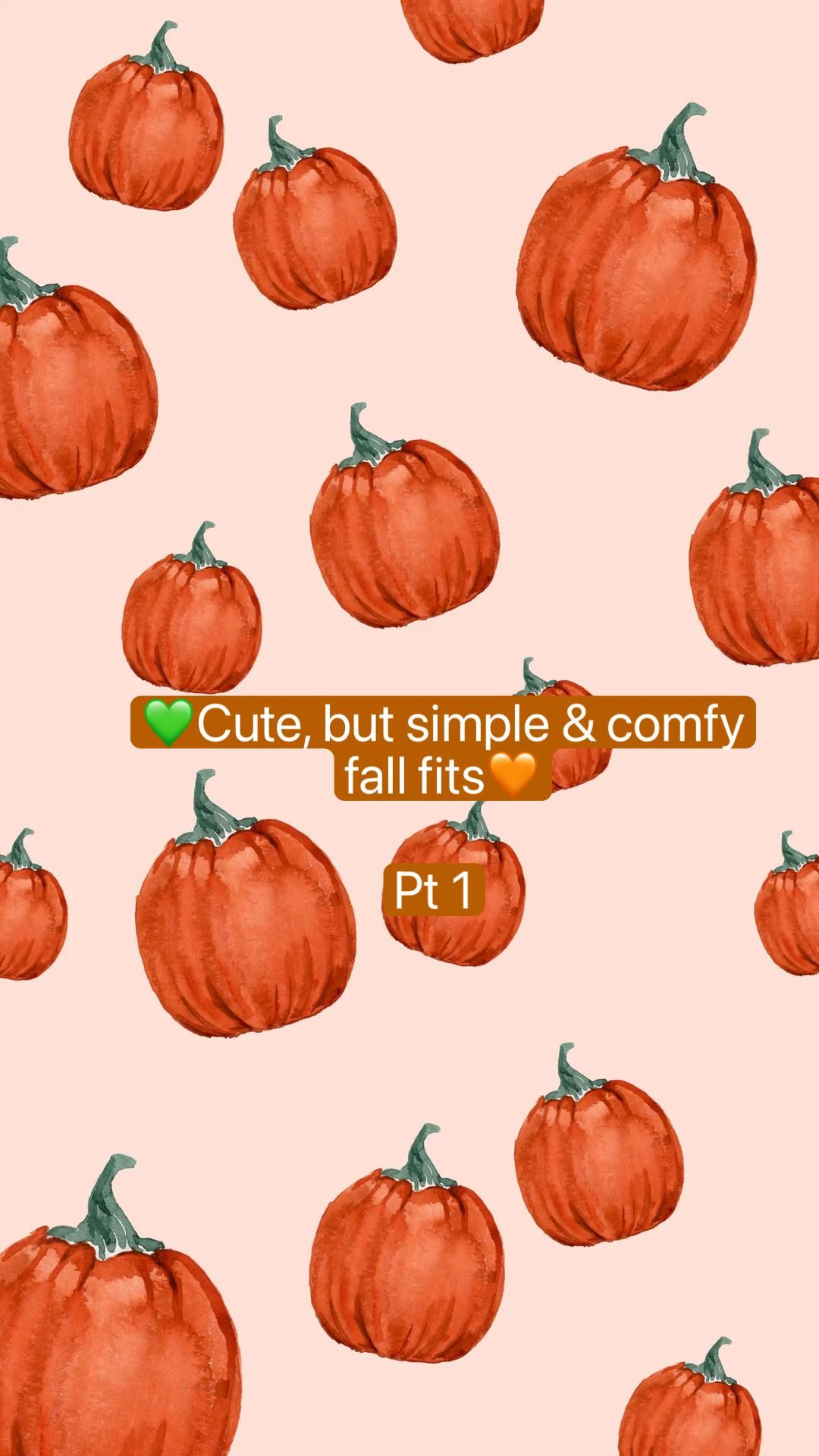💚Cute, but simple  & comfy fall fits🧡