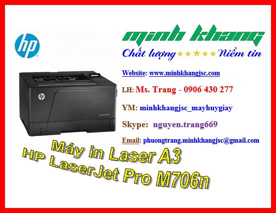 May In A3 Hp Laserjet Pro M706n Gia Tốt Nhất May In