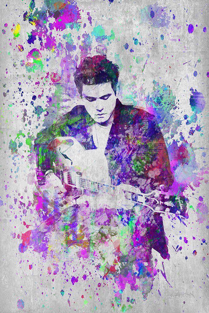john mayer poster john mayer portrait