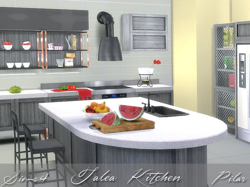Perfect Balance Between Traditional Style And Contemporary Living Found In  TSR Category U0027Sims 4 Kitchen