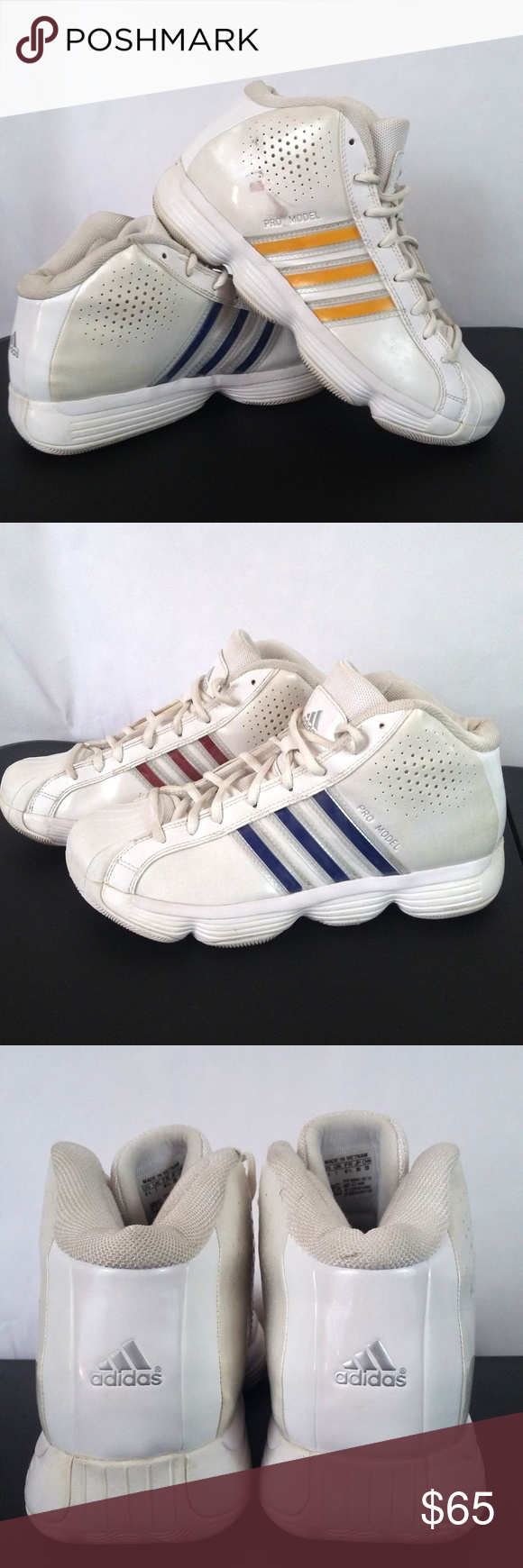 Adidas Pro Model adiPRENE alto - top zapatos adidas Pro Model hombre 's size