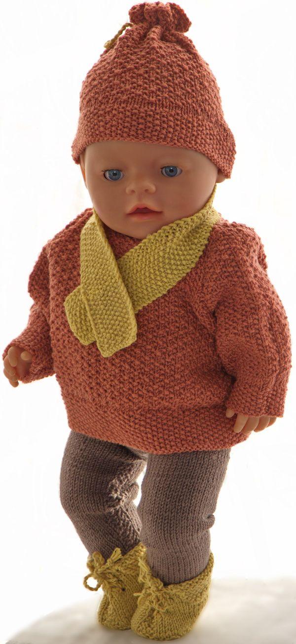 Puppenpullover stricken | Barbie/Doll Clothes | Pinterest | Stricken ...