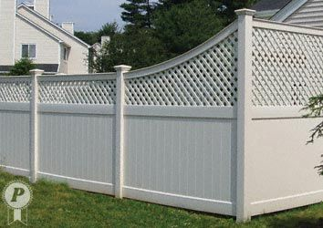 Pin By Alexandra Oliver On Fence Ideas In 2020 Vinyl Fence Vinyl Privacy Fence Fenced In Yard