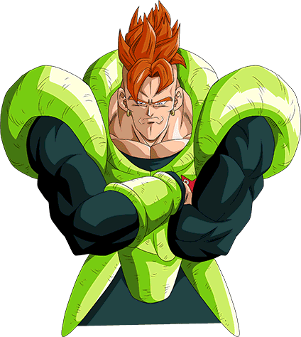 Android 16 Render 11 By Maxiuchiha22 Art Artist Rendering