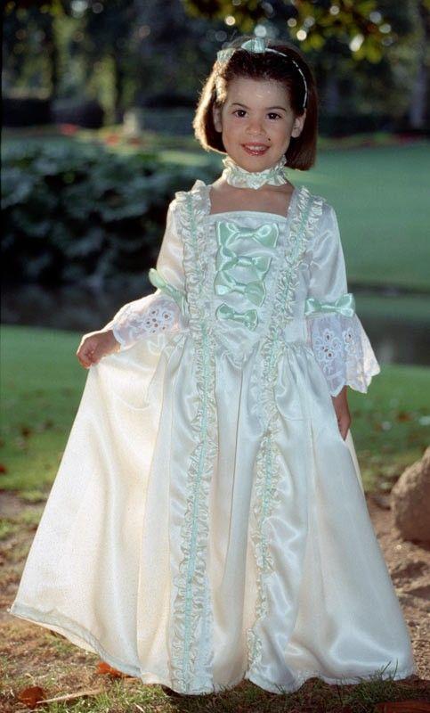 ff2d8b444dab7 Patron couture de déguisement robe de marquise 4-10 ans