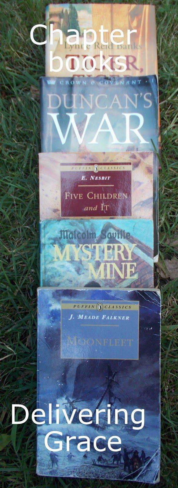 delivering grace: 45+ Older children\'s chapter books | Kid stuff ...