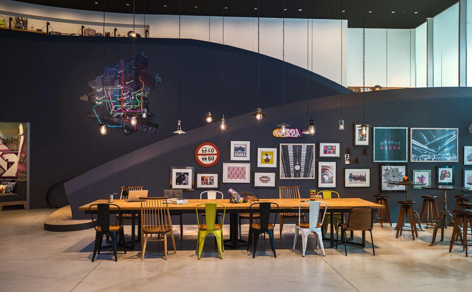 two affordable design friendly moxy hotels open in japan rh pinterest com