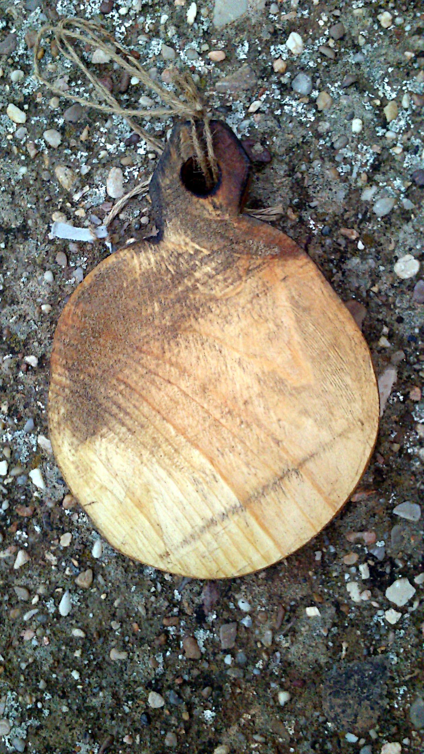 Tabla de cocina en madera natural