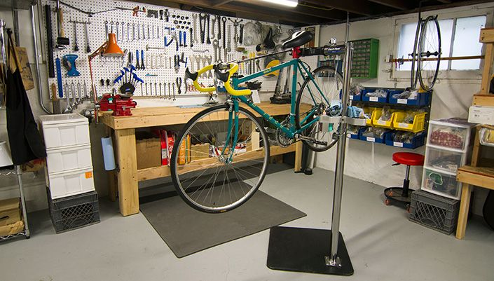 Save Money By Setting Up Your Own Home Bike Workshop Bike Repair
